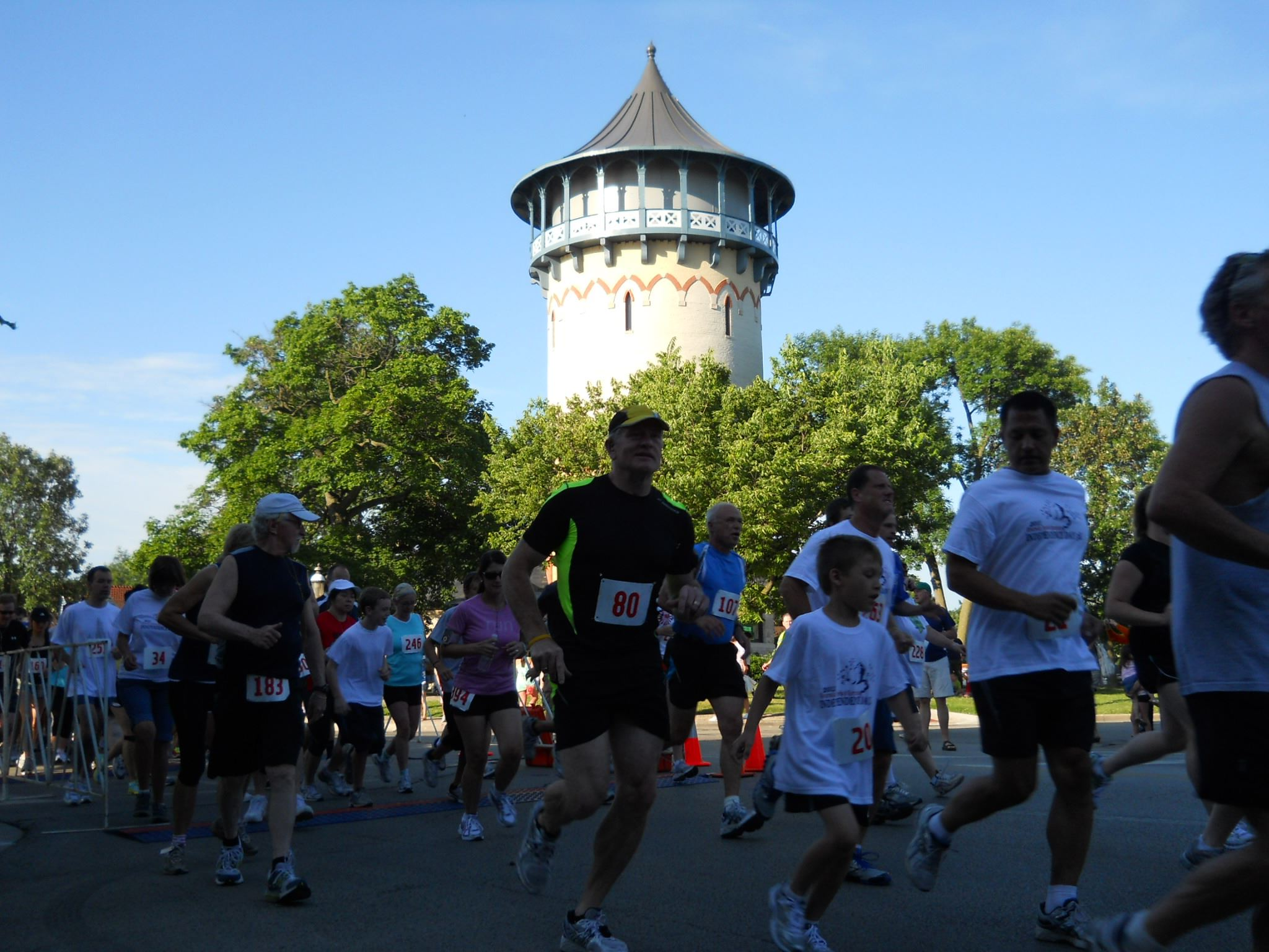 4th Annual 5K at the Water Tower
