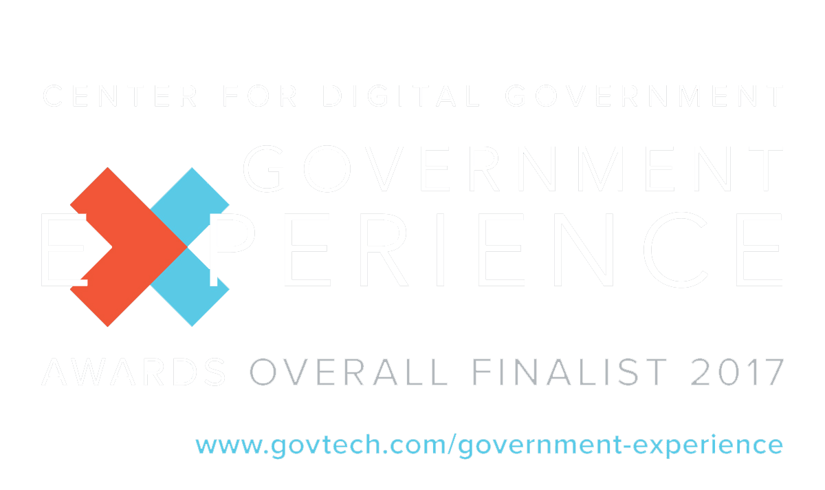 Government Experience Awards Finalist Logo